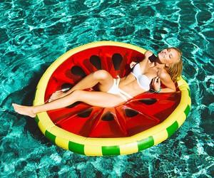 bikini, ocean, and pool image