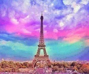 paris, colors, and france image
