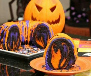 pumpkin, cake, and delicious image