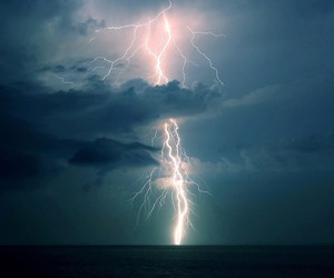 lightning, nature, and sky image