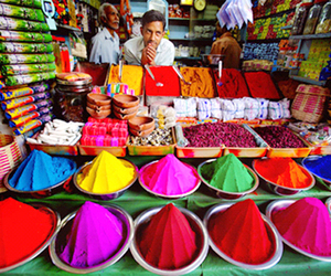 colour, food, and travel image