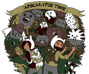 apocalypse, time, and adventure time image