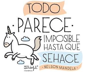 unicorn, imposible, and frases image