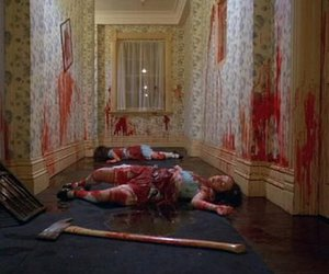 blood, The Shining, and horror image