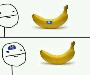 banana, funny, and lol image