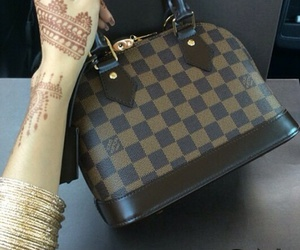 fashion, henna, and Louis Vuitton image