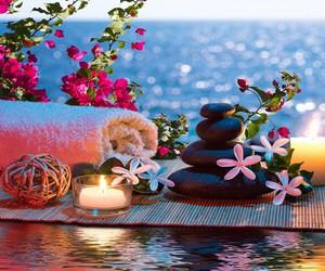 flowers and zen image