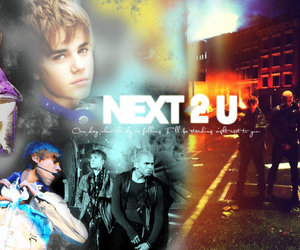 blend, justin bieber, and next 2 you image