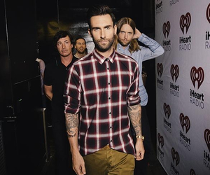 maroon five, adam levine, and i heart radio image