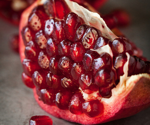 fruit, food, and pomegranate image