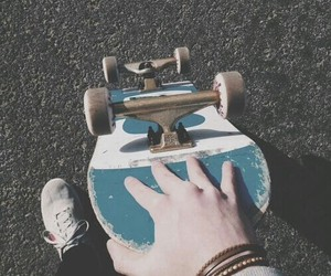 skate, skateboard, and grunge image