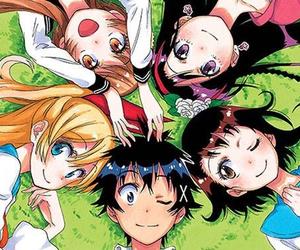 nisekoi, anime, and kawaii image