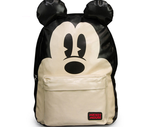 backpack, mickey mouse, and bag image