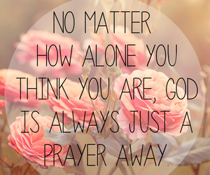 god, quote, and prayer image