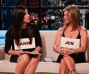 Jennifer Aniston and sandra bullock image