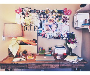 deco, flowers, and organization image