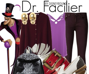 disney, princess and the frog, and dr facilier image