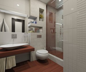 design, room, and bathroom image
