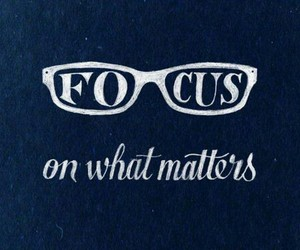 focus and quote image