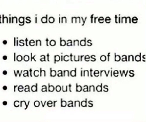 bands, funny, and music image