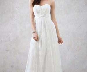 stylish bridal gowns, gowns by david's bridal, and gowns for spring 2015. image