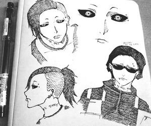 tokyo ghoul and uta image
