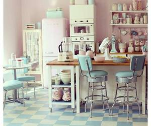 kitchen and vintage image