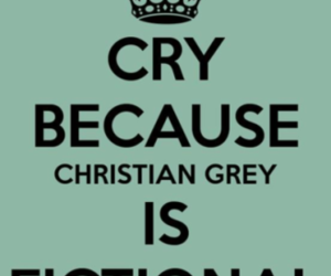 christian grey, book, and fifty shades of grey image