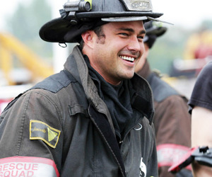 cast, taylor kinney, and kelly severide image