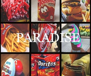 paradise, food, and nutella image