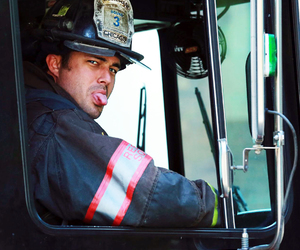cast, chicago fire, and kelly severide image