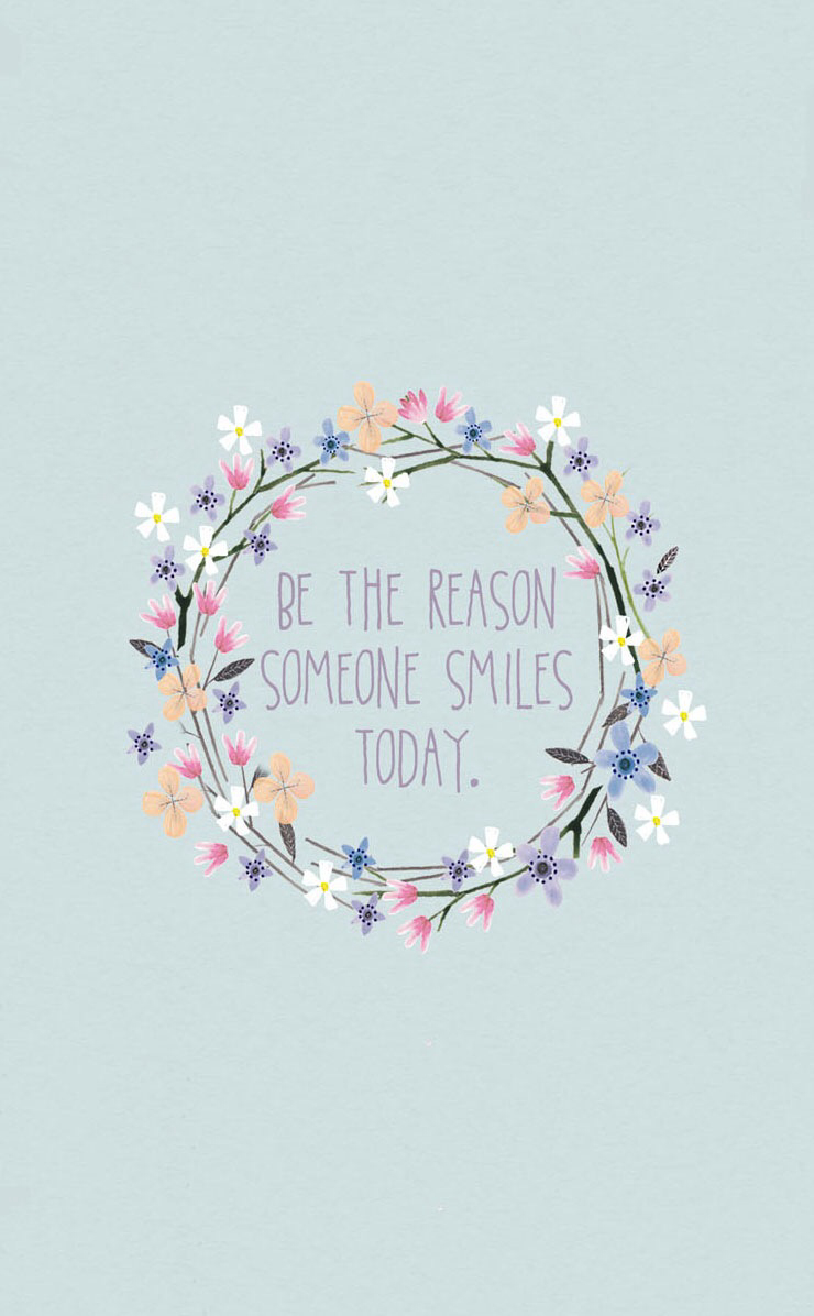 quotes, smile, and wallpaper image