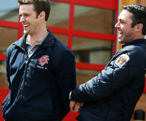 bromance, cast, and chicago fire image