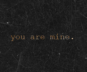 love, mine, and quotes image