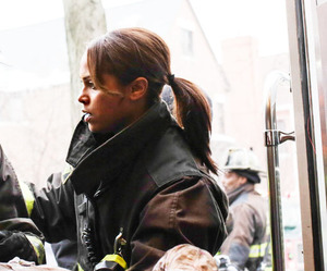 cast, chicago fire, and paramedic image