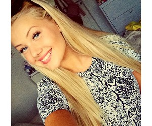 beauty, blog, and blonde image