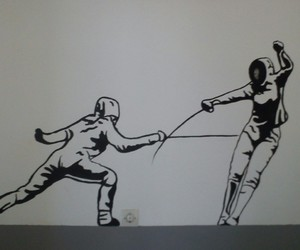fencing and epee image