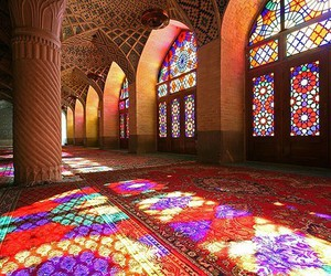 architecture, mosque, and iran image