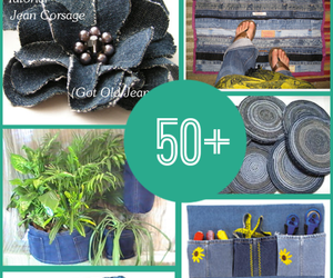 diy, crafts, and jeans image