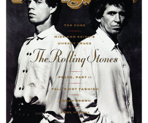 b&w, cover, and mick jagger image