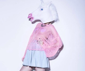 unicorn, pink, and tumblr image