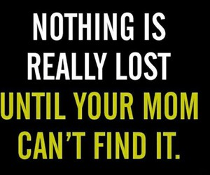mom, funny, and lost image