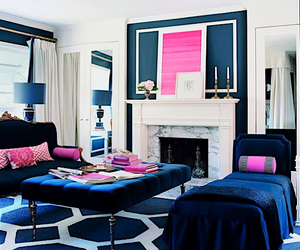 pink, decor, and interior image