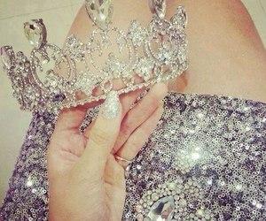 crown, princess, and diamond image