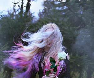 air, hair, and lovely image