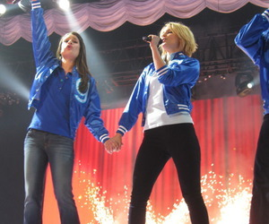 dianna agron, achele, and faberry image