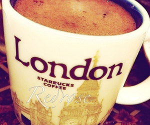 cafe, cup, and london image