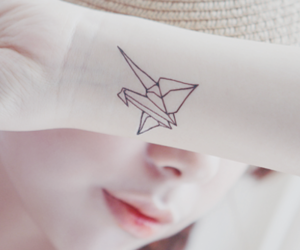 origami and tattoo image