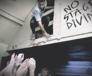 concert and stage diving image