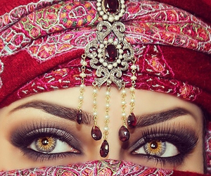 beautiful, beauty, and hijab image